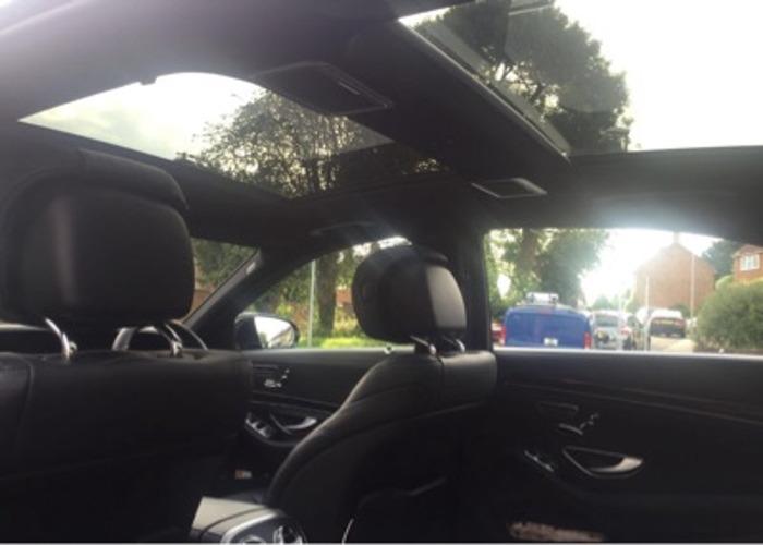 Car hire Mercedes Sclass  - 1