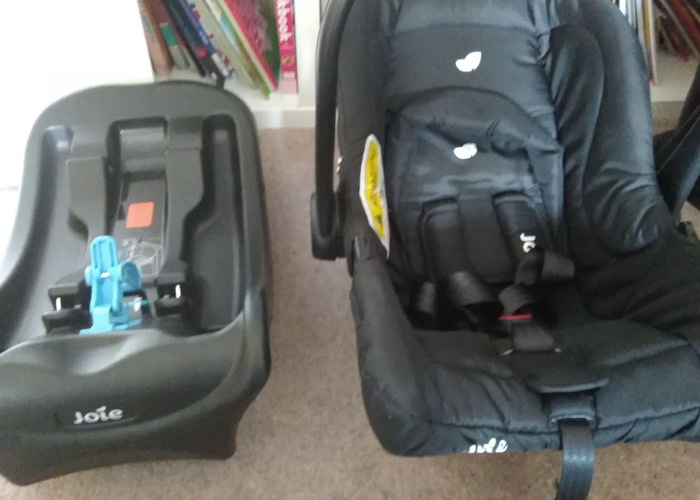 Car Seat and Base (from birth to 6+ months) - 1