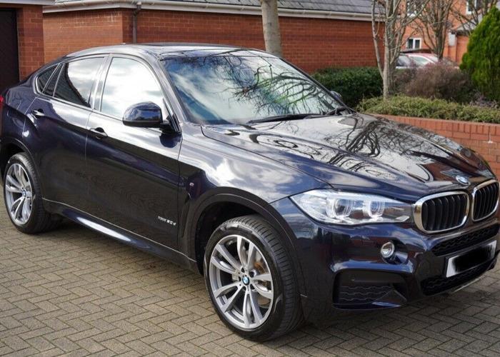 Carbon Black BMW X6 30d  - 1