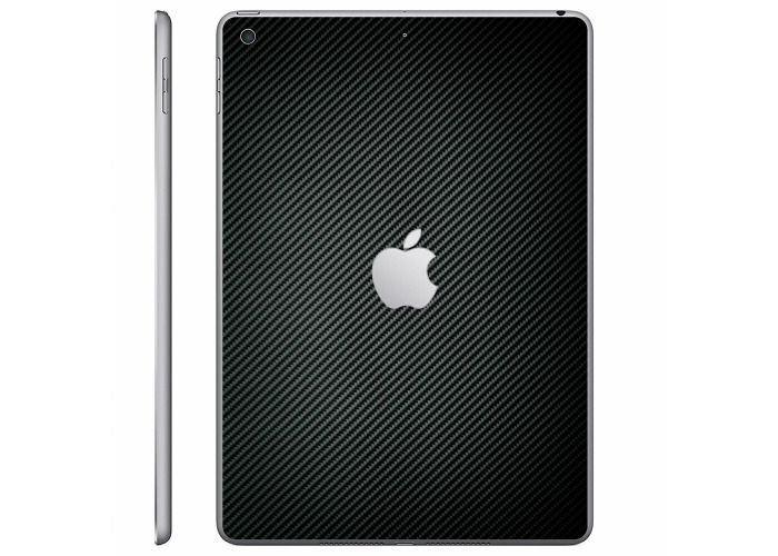 "Carbon Fibre- Leather- Glitter Vinyl wrap skin sticker for iPad 9.7"" 2018 Model - 1"
