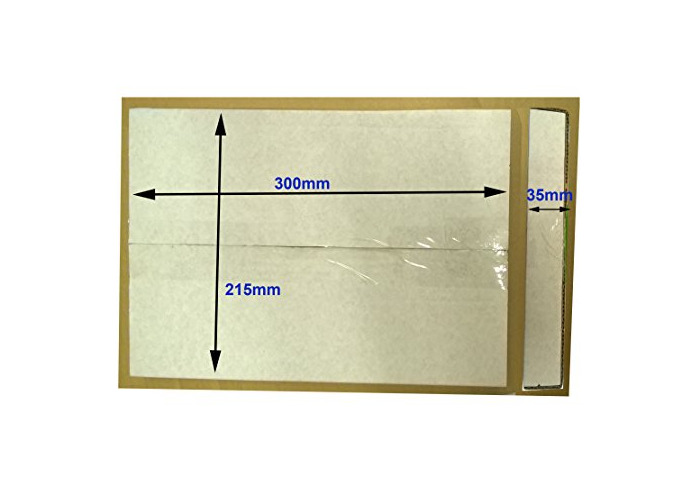 Cardboard Book Mailers/Book Wraps/Small A4 Postal Boxes 300 x 215 x 35 - White Single Wall (25) - 2