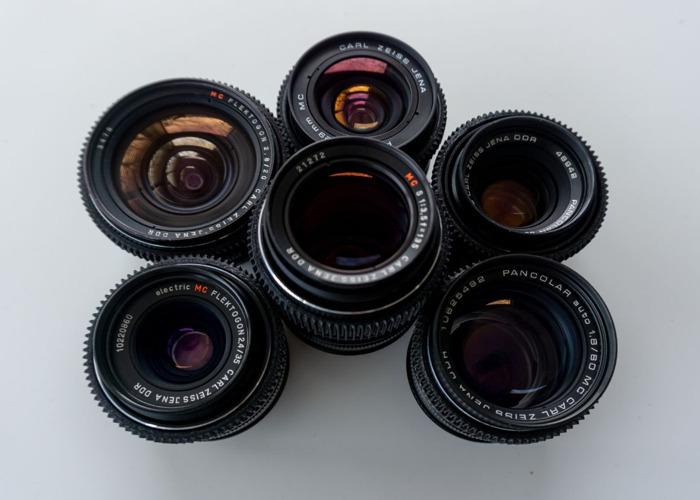 Carl Zeiss Jena lens set - EF Mount  - 1