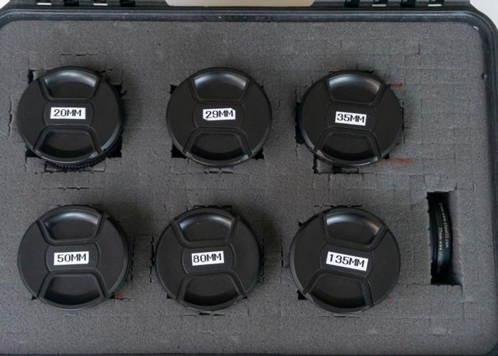 Carl Zeiss Jena lens set - EF Mount  - 2