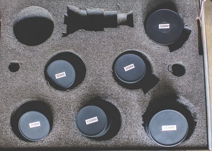 Carl Zeiss Vintage Jena PL Lens Set - 2