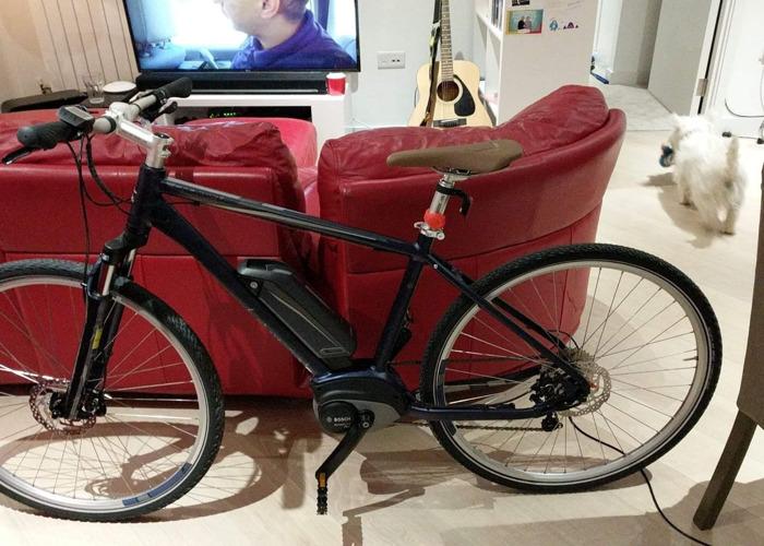 "Carrera Crossfuse Mens Electric Hybrid Bike 19"" - 1"