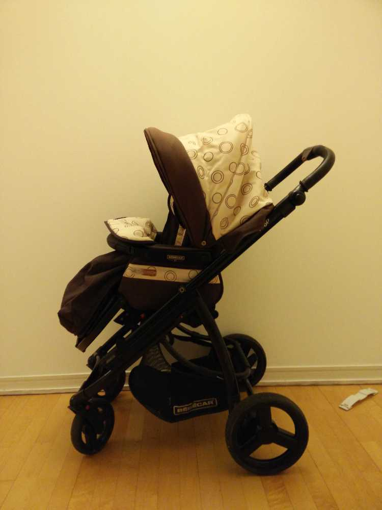 Carrycot and Pushchair Bebecar Ip-Op - 2