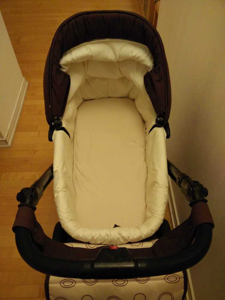 Carrycot and Pushchair Bebecar Ip-Op - 1