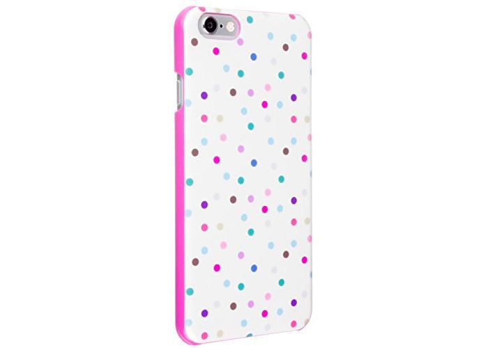 Case It Inspire Ditsy Hardshell Case Cover for iPhone 6/6S - Cream Polka Dot - 1
