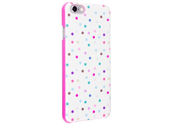Case It Inspire Ditsy Hardshell Case Cover for iPhone 6/6S - Cream Polka Dot - 2