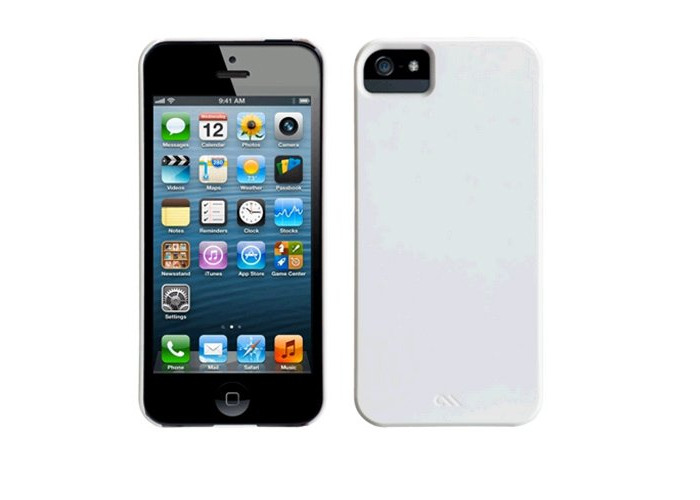 Case Mate Barely There Cases for Apple iPhone 5/5s/SE - White - 2