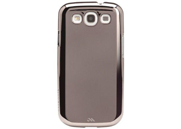 Case Mate Barely There Samsung Galaxy S3 - Mirror Silver - 1
