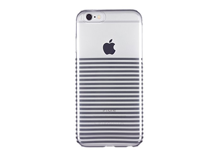 Caseit Inspire Clip-On Hard Shell Case Cover for iPhone 6/6S 4.7 inch - Silver Stripes - 1