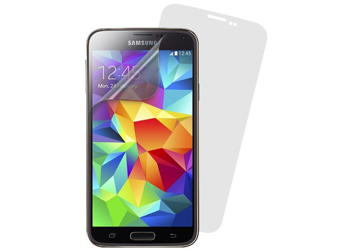 Caseit Protective Anti Scratch Screen Protector for Samsung Galaxy S5 - Clear (Double Pack) - 1