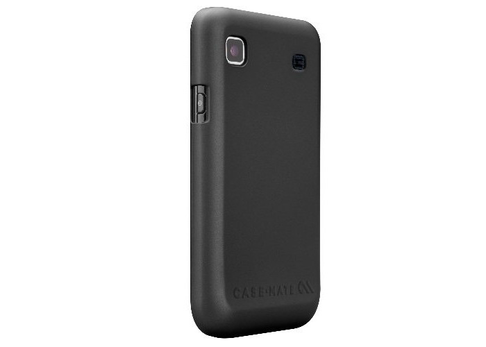 Case-Mate Barely There Case for Galaxy S LCD - Black - 1
