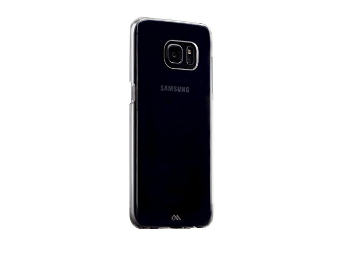 Case-Mate Barely There Cover Case for Samsung Galaxy S7 Edge - Clear - 1