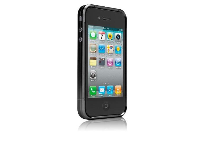 Case-Mate Jett Cases for Apple iPhone 4 - Black - 1