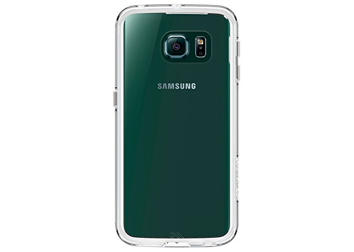 Case-Mate Naked Tough Cover Case for Samsung Galaxy S6 Edge - Clear - 1