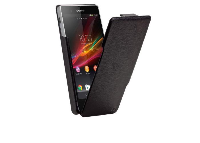 Case-Mate Signature Flip Cases for Sony Xperia Z - Black - 1