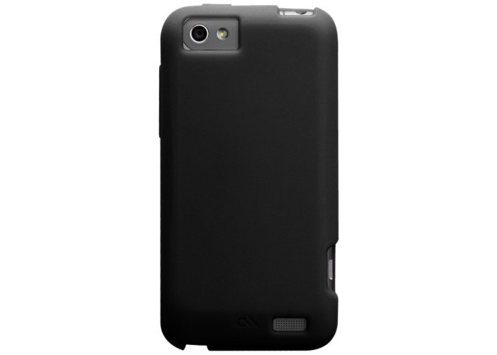 Case-Mate Smooth Case for HTC One V - Black - 1