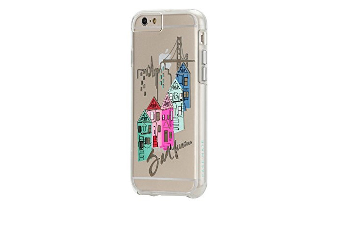 Case-Mate Tough Naked City Prints Cover Case for Apple iPhone 6 Plus/6S Plus - San Francisco - 1