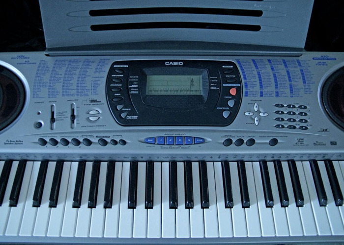 Casio CTK-671 Electronic Keyboard - 2
