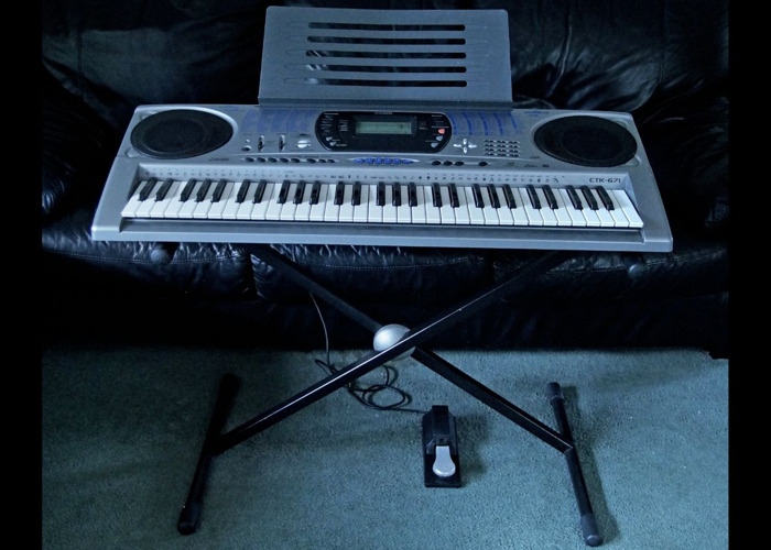 Casio CTK-671 Electronic Keyboard - 1