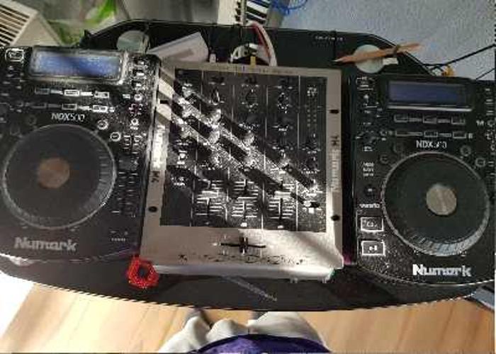 CDJ's x 3 and Mixer - 1
