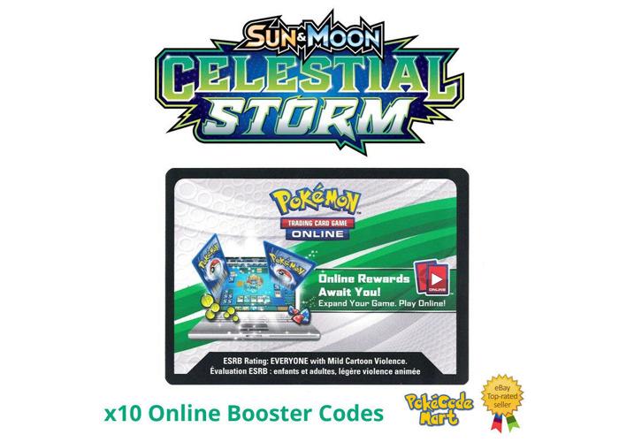 10X Sun and Moon Burning Shadows Set PTCGO Code Pokemon Card EMAIL FAST !