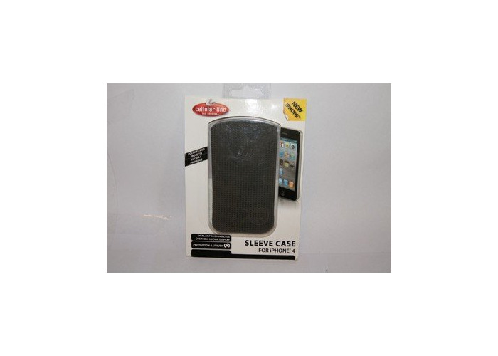 Cellular Line Microfibre Pouch Sleeve for iPhone 3G/3GS/4/4S - 1