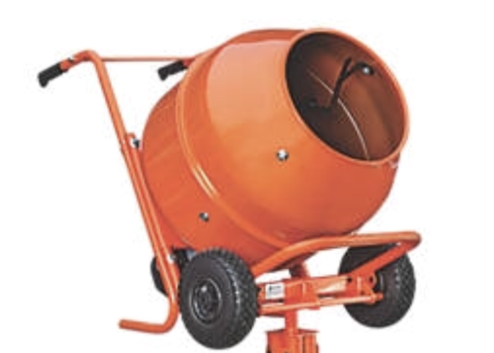 Cement mixer  - 1