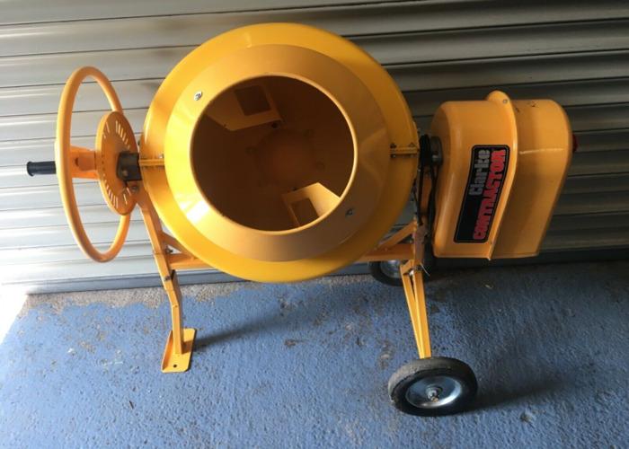 Cement Mixer 30L Compact DIY jobs - 1