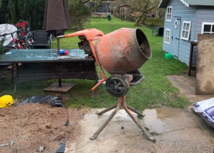 Cement Mixer Petrol - 1