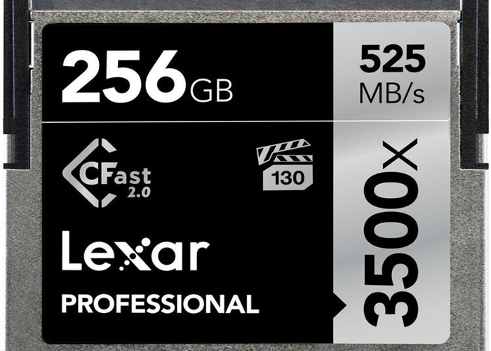 Cfast 2.0 256gb Card + Reader - 1