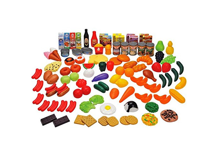 Chad Valley 120 piece play food set - 1