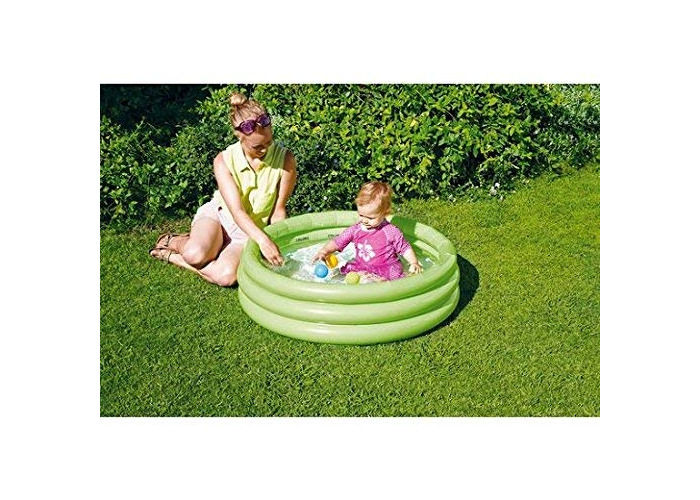 Chad Valley 3 Ring Paddling Pool - 3ft - Yellow. - 1