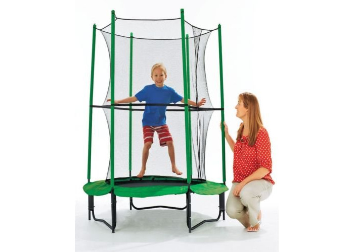 Chad Valley 4FT My First Trampoline and Enclosure - 1