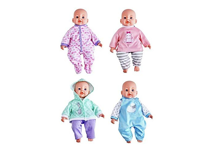 Chad Valley Babies to Love 4 Doll Outfits Set - 1
