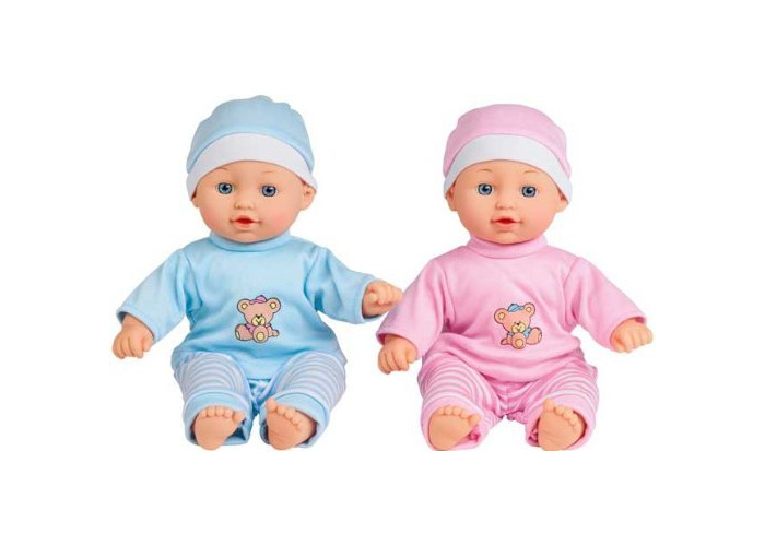 Chad Valley Babies to Love Talking Twin Dolls. - 1