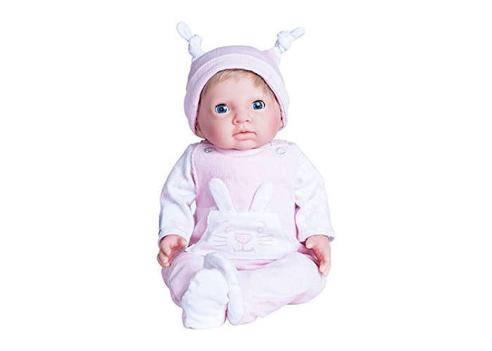 Chad Valley Tiny Newborn Treasures Outfit Doll With Pink - 1