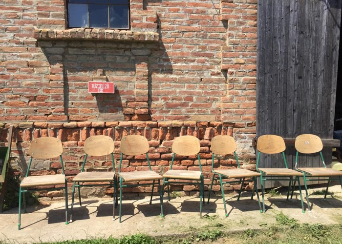 CHAIRS Stackable School Seats Vintage 50+ (1pc) - 1