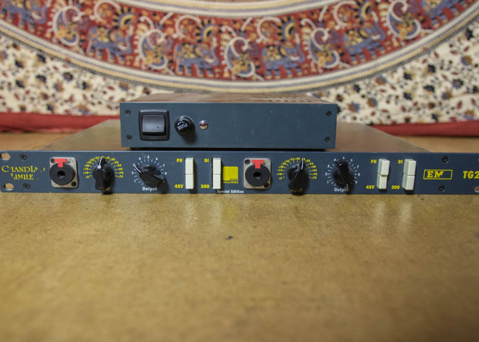 Chandler Limited Abbey Road TG2 preamps EMI - 1