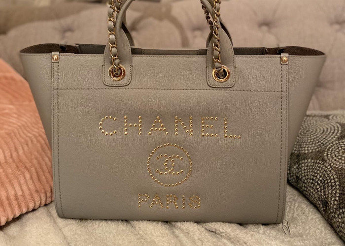Chanel Grained Shopping Bag - 1