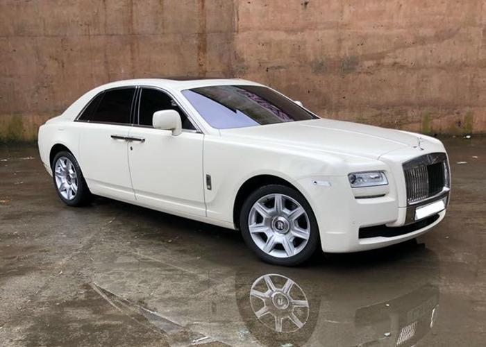 Chauffeured Rolls Royce Ghost - 1
