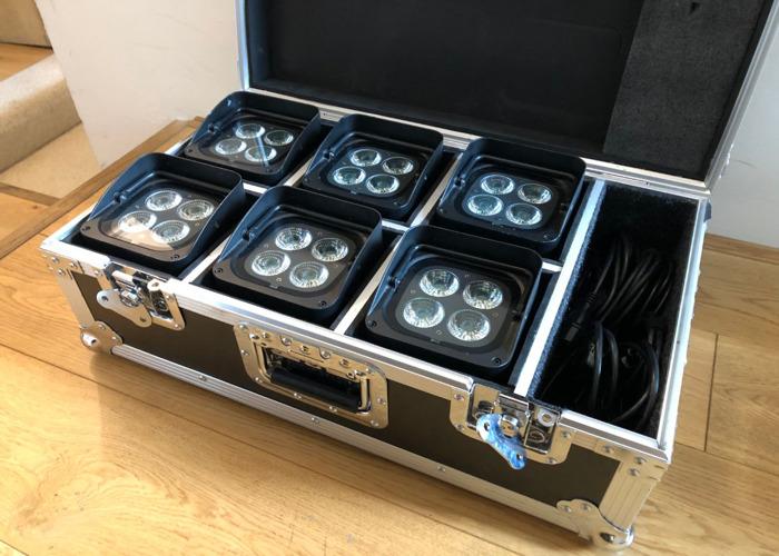 Chauvet Freedom Par Quad 4 Wireless Uplighters - 1