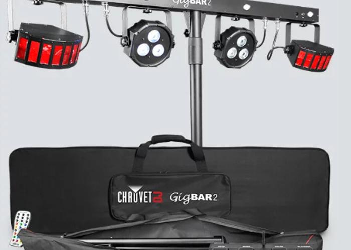 Chauvet GigBAR 2 party lights - 2