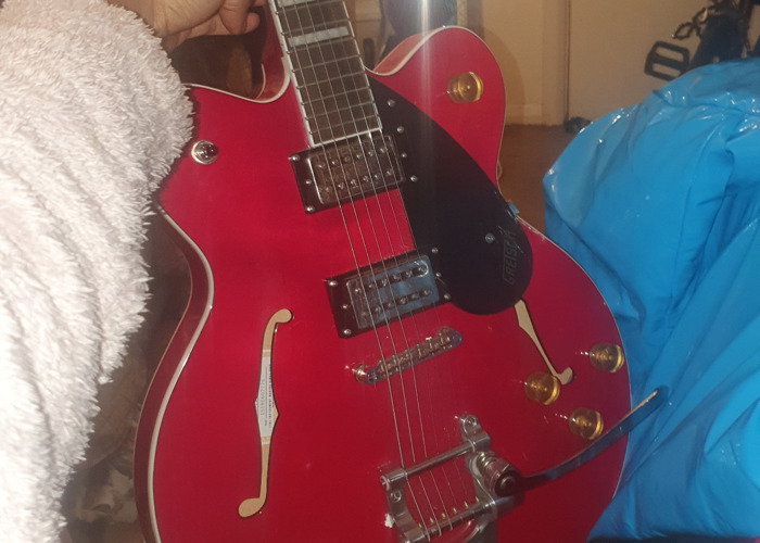 Cherry red epiphone - 2