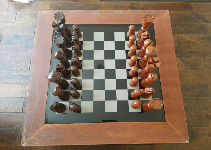 Superb Rent Chess Coffee Table In Ilford Fat Llama Gmtry Best Dining Table And Chair Ideas Images Gmtryco