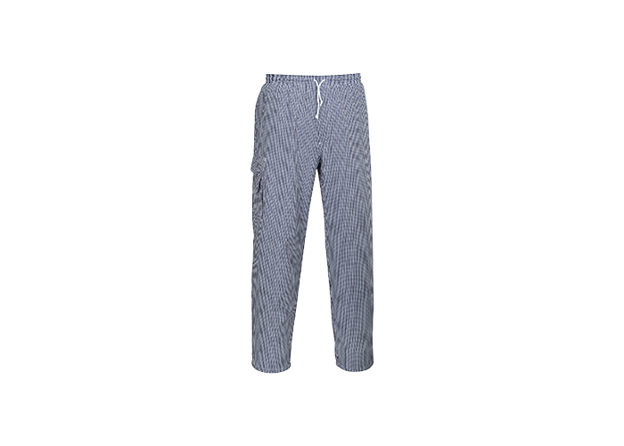 Chester Chef Trousers  Check  Small  R - 1