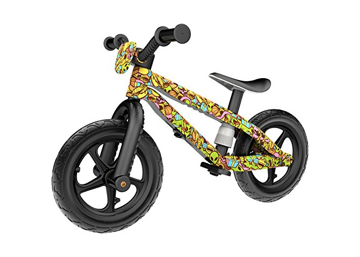 Chillafish BMXie-RS: FAD Edition BMX Balance Bike with Airless RubberSkin Tyres, Xplorer - Musketon - 1