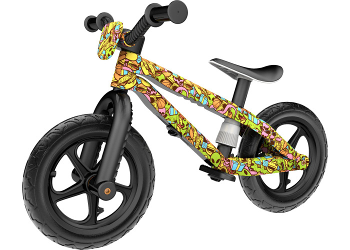 Chillafish BMXie-RS: FAD Edition BMX Balance Bike with Airless RubberSkin Tyres, Xplorer - Musketon - 2